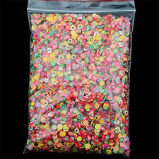 1000PC Nail Art Mix Design Fimo Slices Polymer Clay Stickers Decoration Manicure