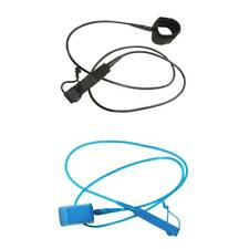6-12ft Surfboard Leash Surfing Stand Up Paddle Board Leash Leg Rope & Cuff Strap