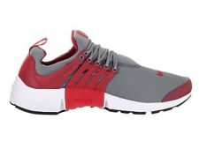 Nike Men's Air Presto Essential Cool Grey/Gym Red/Wht/Blk Running Shoe