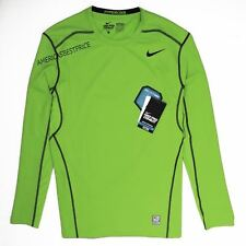 NIKE NEW PRO COMBAT HYPERCOOL FITTED DRI-FIT LONG SLEEVE SHIRT NWT TRAINING