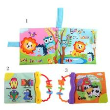 Soft Cloth Book Animal Baby Infant Intelligence Development Toy Cognize Book