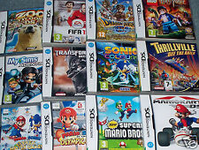 Nintendo DS Games BOXED & MANUAL Boys Kids -CHOOSE VARIOUS DS Lite/DSi/3DS/2DS