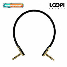 Guitar Patch Cables 10cm~80cm - Pancake Jacks - Van Damme Ultra Flexible Cable