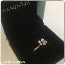 Boxed PANDORA Pink Cherry Blossom Flower Ring Sizes 56 58 190879EN40 RRP £35