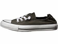 Converse Chuck Taylor All Star Shoreline Slip On Womens Charcoal Grey