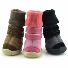 Pet Dog Winter Snow Boots Puppy Soft Anti-slip Warm Shoes Sneakers Pet Booties