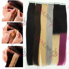 """20PCS Tape in Skin Ombre Human Hair Extension Remy Tape Hair Extensions 16-24"""""""