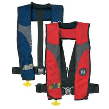 Mustang Survival Deluxe Inflatable Collar PFD with Sailing Harness