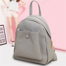 Fashion Women Girl Mini Leather Backpack Handbag Tote Travel Shoulder School Bag
