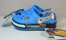 NWT UNISEX GIRL BOY KID CROCS STAR WARS JEDI LIGHT UP CLOGS SLIP ON SHOES SZ C9