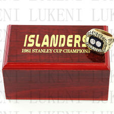 Year 1981 NEW YORK ISLANDERS Stanley Cup Championship Solid Ring 10-13Size