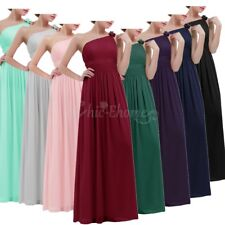 Women Long Formal Prom Dress Evening Party Cocktail Bridesmaid Wedding Ball Gown