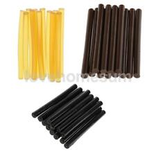 12/36pcs Bond Sticker Glue Sticks for Hair Extension Fusion Yellow Brown Black