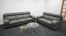 Lounge Suite, Couch, Sofa,Italian Leather  3 seater + 2 seater - 3 Colours