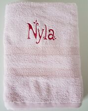 Personalised embroidered towel - BATH/HAND/FACE CLOTH
