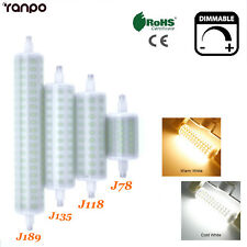 LED Light Bulb Dimmable R7S J78 J118 J189 10W 25W 30W Lampe Halogen Replacement