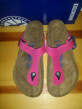 Womens EUR 41 R US 10 10.5 Birkenstock Gizeh  Soft Footbed PINK US Seller