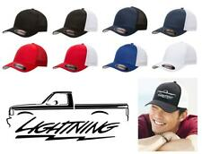 1993 1994 1995 Ford SVT Lightning F150 Pickup Truck Color Outline Design Hat Cap