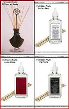 PARTYLITE Forbidden Fruits Diffuser & Fragrance Refill Pear ~ Apple ~ Fig Fatale