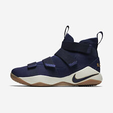 Nike Lebron Soldier XI EP [897645-402] Men Basketball Shoes James Navy/Gold