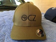 CZ Logo Embroidered Flexfit Ball Cap Hat Black, Olive Green or Navy Blue