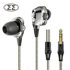 VJJB V1 4 Speakers HIFI Quality Sound Metal In Ear Earphone Earbud Headphones