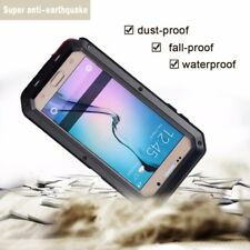 Waterproof Metal Aluminum Shockproof Hard Cover Case for Samsung Galaxy& iPhone
