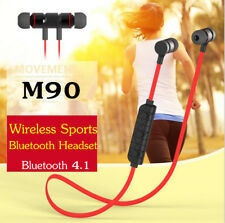 Sports Wireless Bluetooth Stereo Headset Magnetic Adsorption Handsfree Earphone