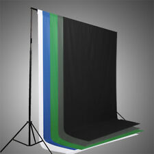 NEW! 5 Colors Screen/Chromakey Backdrop 6x9 Muslin  Video Background