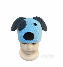 Crochet Puppy Hat/Photo prop/Newborn Baby/Boy/Girl/Baby Shower Gift/Doggy hat