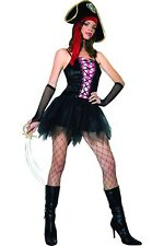Music Legs Velvet Lace Up Pirate Queen Costume, As Shown - ML-70187