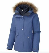COLUMBIA WOMENS SUNSET VISTA M, XL 3 IN 1 INTERCHANGE JACKET REMOVABLE LINER