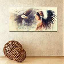 Modern Abstract Huge Wall Art Oil Painting On Canvas Indian Unframed Room Deco
