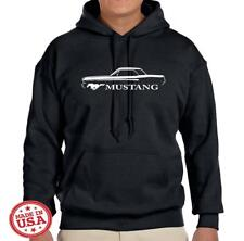 1965 1966 Ford Mustang Coupe Classic Design Hoodie Sweatshirt FREE SHIP