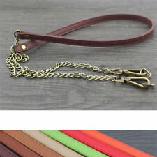 New 45in Genuine Leather purse shoulder Strap Replacement Multi-colored iD40