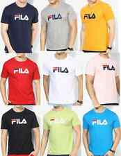 Fila Eagle Solid Round Neck T-Shirt -100% original