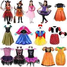 Girls Kids Halloween Fairy Costume Fancy Dress Up Cosplay Party Outfit Clothes