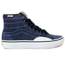 Vans - AV Classic High Pro Mens Shoes Navy/White