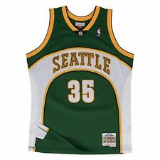 Mitchell & Ness NBA Seattle Supersonics Kevin Durant 35 Road HWC Swingman Jersey