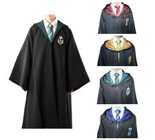 Adult Cosplay Harry Potter Robe Cloak Gryffindor/Hufflepuff/Slytherin Costumes