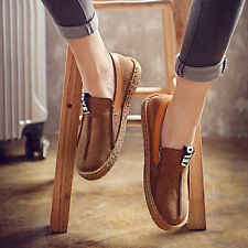 Women Fashion Comfy Flat Loafers Round Toe Diving Leisure Shoes  Ballet Flats