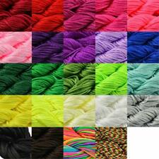 1mm Nylon Cord Thread Chinese Knot Macrame Rattail Bracelet Braided String