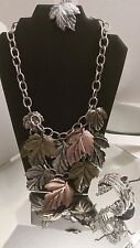NWT BOUTIQUE NECKLACE EARRING & BRACELET LOT RETAIL $35 A109