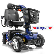 Pride VICTORY SPORT Mobility Scooter 4-wheel S710DXW Viper Blue + Basket