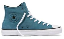 Converse - CTAS Pro Hi Plush Suede Mens Shoes Petrol Teal/Black/White