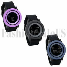 Candy Color Sport Electronic Large Round LED Digital Wrist Watch Student Watches
