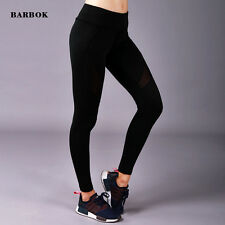 Ladies Sexy Black Yoga Trousers Fitness Running Leggings Women Compression Pants