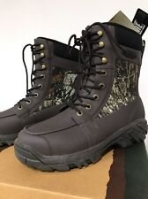 Muck Boots: Men's Uplander MOSSY OAK CAMO Insulated Waterproof Hunting Boots-NWT