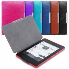 Ultra Slim Magnetic Leather Smart Case Covers for Amazon Kindle Paperwhite WiFi