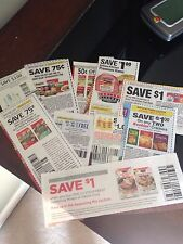 Lot of 25 Grocery Coupons!